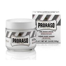 Proraso Pre & Post Shaving Cream for Sensitive Skin 100ml White