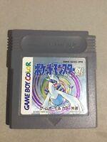 POKEMON SILVER Gin Pocket Monsters Game Boy Color Nintendo Japan Gameboy