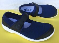 NEW Alegria Wmns Sz 39/8.5 TRAQ Qutie Blue Mary Jane Smart Walking Shoe QUT-5493