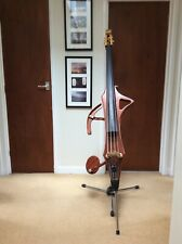 More details for clifton electric upright bass with stand & padded gig bag. rrp£1950