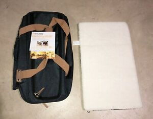 Brand New Never Used Travel SHERPA PET CARRIER HOLDER up to 22 lbs- NAVY BLUE
