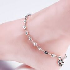 Bead Chain Anklet Ankle Bracelet Barefoot Sandal Beach Foot Jewelry Girls