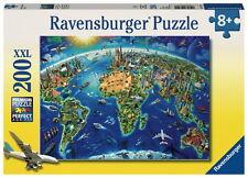 200 Teile Ravensburger Kinder Puzzle XXL Große, weite Welt 12722
