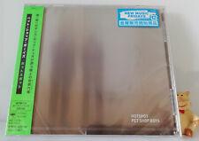 CD Pet Shop Boys HOTSPOT Japan Exclsuive Pressing + 2 Bonus Mixes Sony OBI Neu