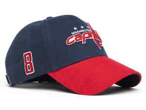 """Washington Capitals """"Ovechkin # 8"""" NHL baseball hat cap"""
