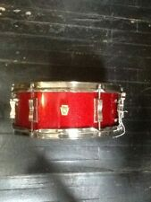 1966 Ludwig Pioneer snare drum in sparkling red pearl 5″x14″