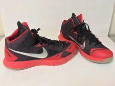 newest 22056 37207 Nike Mens sz 8.5 Lunar Hyperquickness TB Basketball Shoes 652777-006 Black  Red