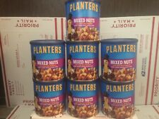 7 Count Planters Mixed Nuts W/Sea Salt in 15 oz sealed canisters bbd 3/22