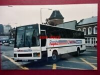 PHOTO  CROSVILLE LEYLAND TRCTL11/3RZ  BUS REG B136 ACK AT DIGBETH 1988