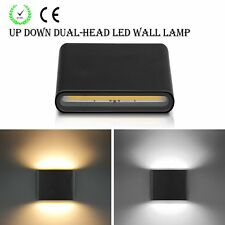 6W 12W Modern COB LED Wall Light Fixture Up&Down LED Sconce Lamp Indoor Outdoor