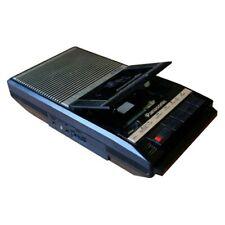 Panasonic Slim Line Portable Cassette Recorder Speaker AC & Battery RQ-2104