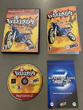 Freestyle Sony Playstation 2, Ps2 Complete W/ Manual Tested Free Shipping