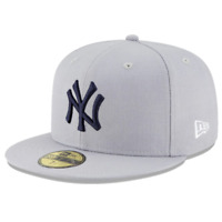 New York Yankees New Era MLB Team 59FIFTY Fitted Hat - Grey