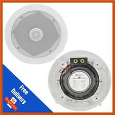 """Adastra C5D Ceiling Speaker With Directional Tweeter 80w 5.25"""" Inch White"""
