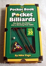 The Pocket Book of Pocket Billiards Includes over 30 Games & Miniature Table