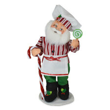 Annalee Dolls 2021 Christmas 9in Candy Santa Plush New with Tag