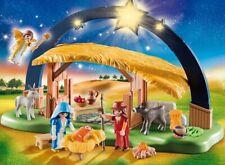 PLAYMOBIL® 9494 Illuminating Nativity Manger - S&H FREE WORLDWIDE - NEW