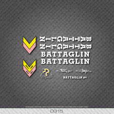 0315 Battaglin Bicycle Stickers - Decals - Transfers