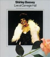 SHIRLEY BASSEY - LIVE AT CARNEGIE HALL [SLIPCASE] NEW CD
