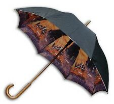 Gogh painting long size auto umbrella(double sewing)