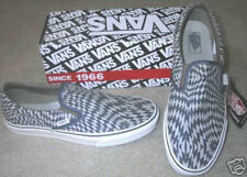 NEW VANS SHOES WARPCHEX BLUE CHECKERBOARD 5.5 WOMENS 4 MENS SLIP ON