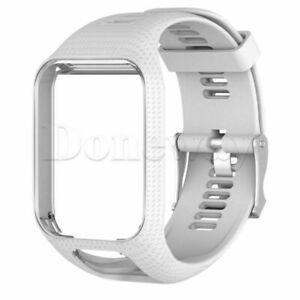 ForTomTom Runner 2&3/Golfer 2/Spark 3 Sport Silicone Watch Band Strap Wristband