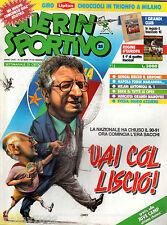 GUERIN SPORTIVO=N°25 (850) 1991 ANNO LXXIX=STELLA ROSSA=LE REGINE D'EUROPA