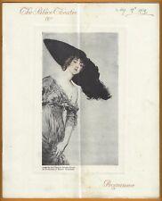 "Elsie Janis ""PASSING SHOW"" Basil Hallam / Arthur Wimperis 1914 London Program"