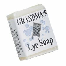 6-ounce Grandma's Pure Lye Bar Soap Mild for Face and Body