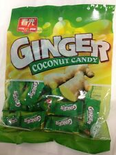 3 Packets x Ginger Coconut Candy 160g