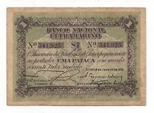 TIMOR PORTUGAL PORTUGUESE 1 PATACA 1910 PICK 1 LOOK SCANS