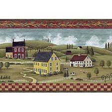 Wall Paper Border Kettle Creek Blonder Home Accents Vinyl