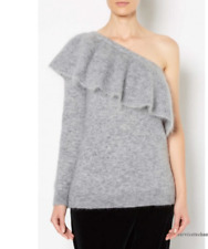 WITCHERY Orchard One Shoulder Frill Knit, Large, Brand New, AUTHENTIC!