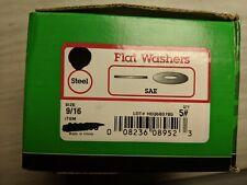 "5 pounds Flat Washers 9/16"" Sae Zinc Steel"