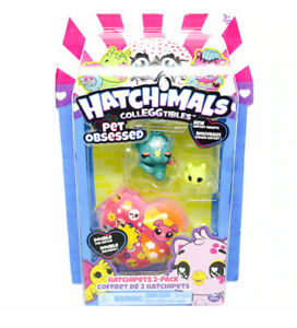 RHOOBY + BUNNY Glitter Hatchimals Colleggtibles Pet Obsessed Hatch Hearts❤️NEW❤️