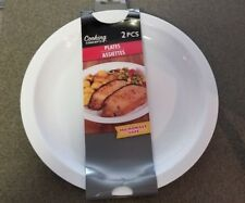 2 Microwave Plates by Cooking Concepts 10""