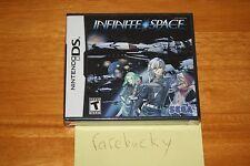 Infinite Space (Nintendo DS) NEW SEALED Y-FOLD, MINT, RARE SEGA RPG!