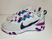 Womens Nike React Element 55 SE Athletic Shoes Photon Dust #CN3591-002 Sz 7.5 DS