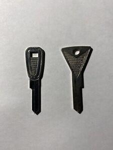 TWO  Vintage EDSEL NOS Key Blanks 1959 1960 Ignition/Door & Trunk/Glove Box Hurd