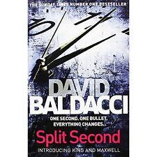 Split Second,David Baldacci- 9781447293507