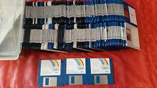 Commodore Amiga 500 600 Workbench 2.05 lotto floppy retro computer vintage
