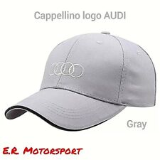 AUDI Power Berretto Da Baseball Cappello Ricamo Sport Motorsport Racing Cotone UK