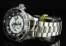 NEW Invicta Pro Diver WHITE DRAGON NH35A Automatic Black Bezel SS Watch 26489