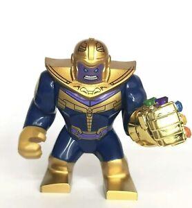 Thanos Mini Figure Gold Gauntlet  Armour Avengers End Game Marvel UK Seller