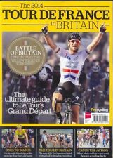 TOUR DE FRANCE IN BRITAIN 2014 OFFICIAL PROGRAMME RARE CYCLING