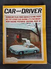 Car & Driver Nov 1964 - Mercedes-Benz 300 SL - Ford Sunbeam Tiger Baby Cobra