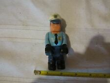 Fisher Price Husky Helper police man policeman cop fuzz Roscoe P. Coltrane cycle