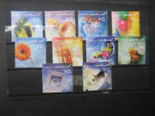 NEW ZEALAND NHM SET-2001 GREETINGS STAMPS SG 2414/23