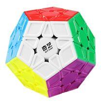 Qiyi Qiheng S Megaminx Cube Sculpted Stickerless Speed Magic Puzzles
