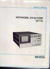 Original Hewlett Packard Network Analyzer 3577A Service Manual